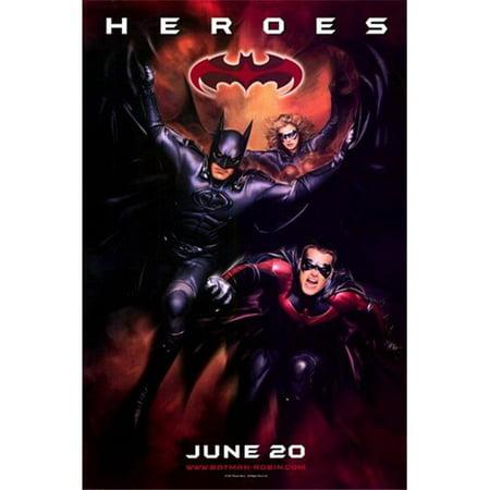 Posterazzi MOV196357 Batman & Robin Movie Poster - 11 x 17 in. - image 1 de 1