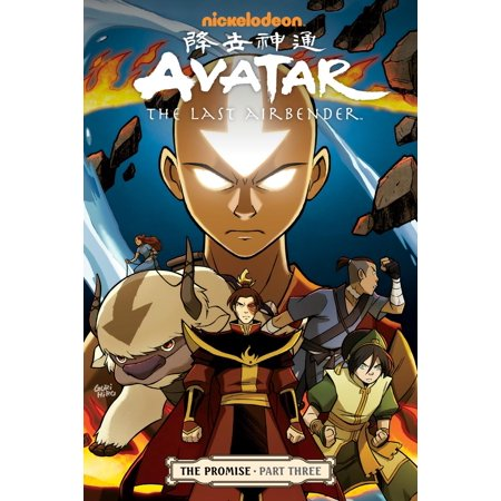 Avatar: The Last Airbender - The Promise Part 3 - eBook](The Last Airbender Staff)