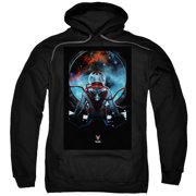 Divinity Cover (Front Back Print) Mens Pullover Hoodie