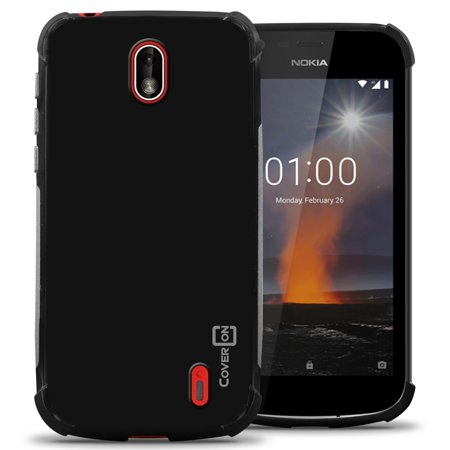 CoverON Nokia 1 (2018) Case, FlexGuard Series Soft Flexible Slim Fit TPU Phone