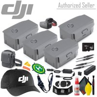 DJI Intelligent Flight Battery for Mavic 2 Pro/Zoom x2 - Fly More Accessory Kit - 128GB Micro SD - Racing Goggles and More