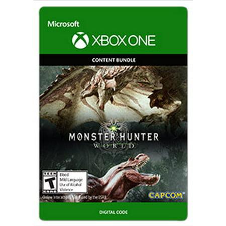 Monster Hunter: World - Deluxe Edition, Capcom, Xbox, [Digital (Monster Hunter 3 Best Weapon)