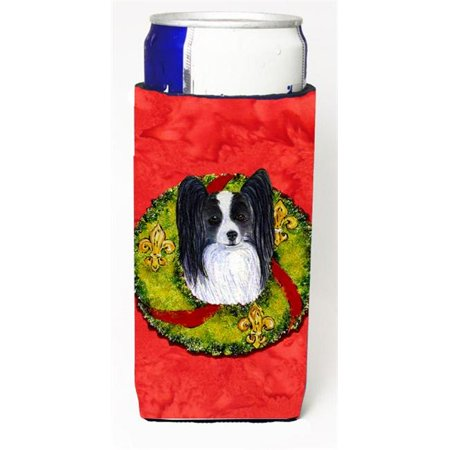 Papillon Cristmas Wreath Michelob Ultra bottle sleeves For Slim Cans - image 1 de 1