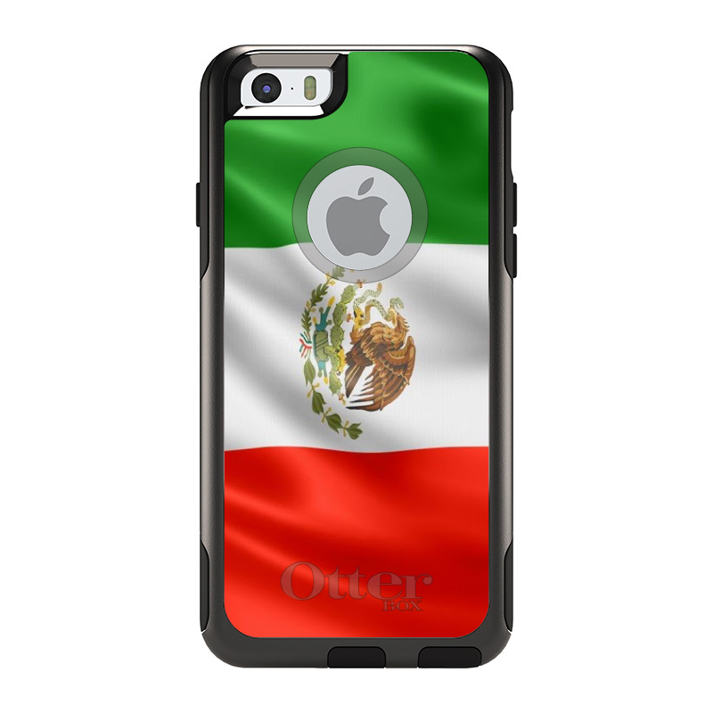 DistinctInk Custom Black OtterBox Commuter Series Case for Apple iPhone 6   6S...
