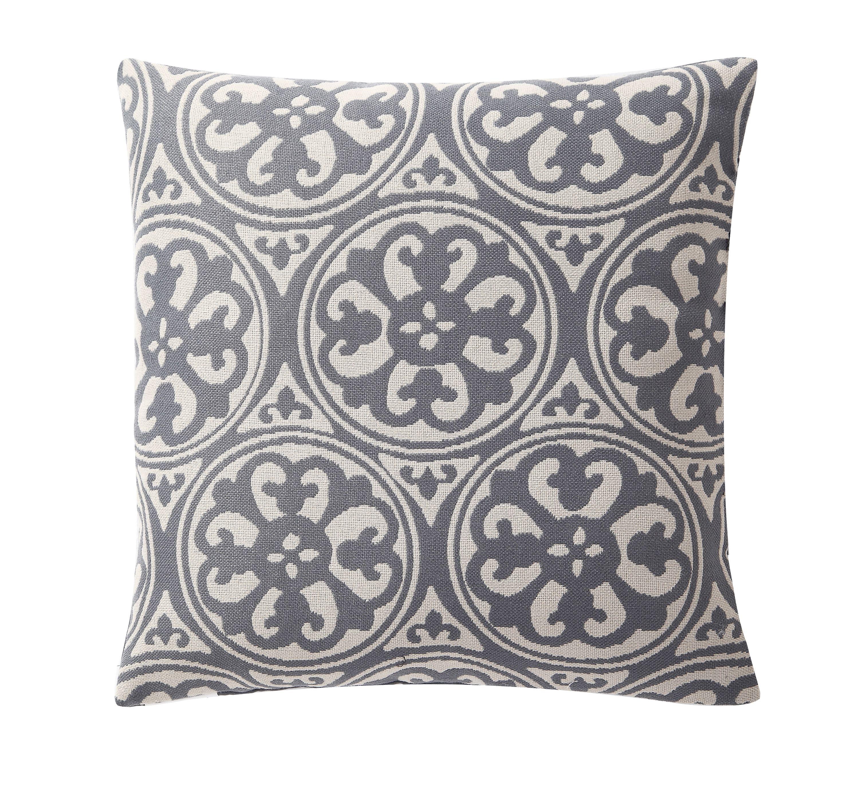 """Mainstays Jacquard Fabric Decorative Throw Pillow Set, 18"""" x 18"""", 2 Pack"""