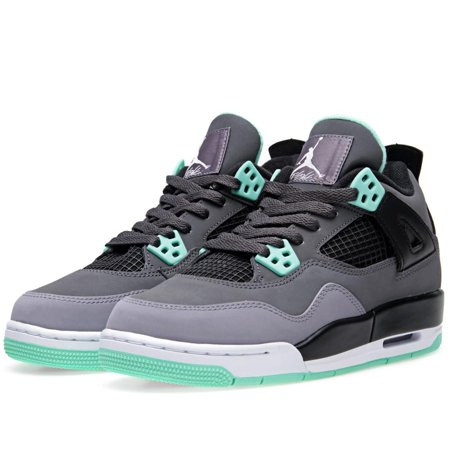 online store 334f0 25b4a AIR JORDAN 4 RETRO (GS) 'GREEN GLOW' - 408452-033