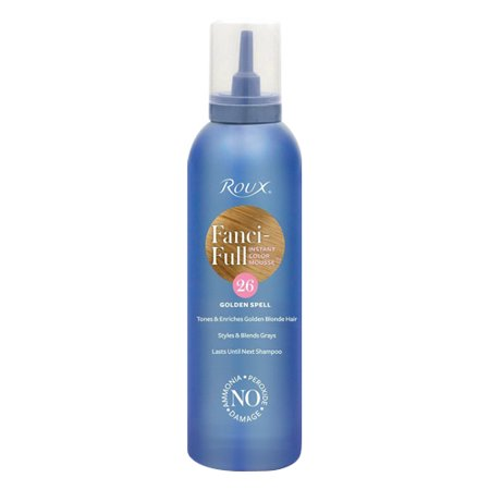 Hair Color Mousse - Roux Fanci-Full Color Styling Mousse (Color : Golden Spell #26)