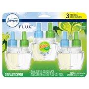 Febreze Plug Odor-Eliminating Air Freshener Oil Refill, Gain Original, 2 ct