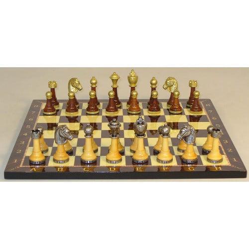 WorldWise Imports Wood Decoupage Chess Set - 141MW-714