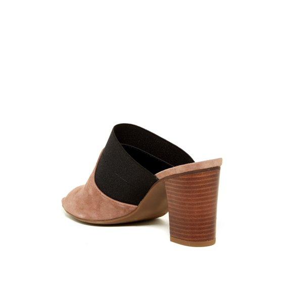 1bdde29210e7c Franco Sarto Women's GAZELLE Heeled Sandal MUSHROOM/BLACK