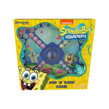 Snail Bob Halloween Games (PRESSMAN Sponge Bob Squarepants Pop N Race)