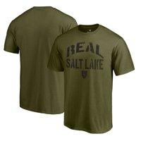 Real Salt Lake Fanatics Branded Camo Collection Jungle T-Shirt - Green