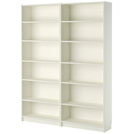 Ikea Bookcase, white, 30382.523.26.816 ()