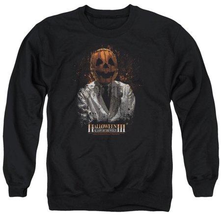 Halloween III Horror Slasher Movie Series H3 Scientist Adult Crewneck Sweatshirt