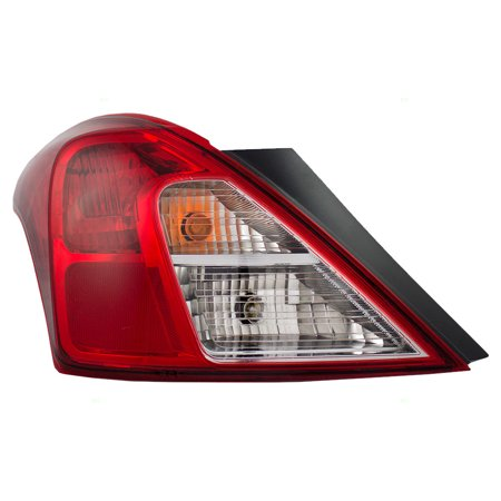 NEW TAIL LAMP ASSEMBLY LEFT FITS 2012-2016 NISSAN VERSA 265553AN0A