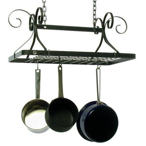 Decor Rectangle Pot Rack