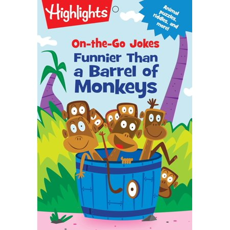 On-the-Go Jokes: Funnier Than a Barrel of Monkeys - Barrel Of Monkeys Bulk