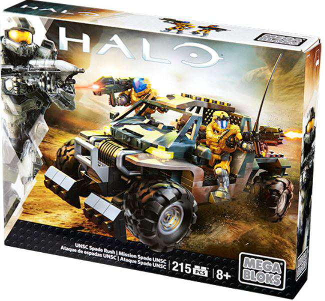 Halo Wars 2 UNSC Spade Rush Set Mega Bloks 32730 by Mattel