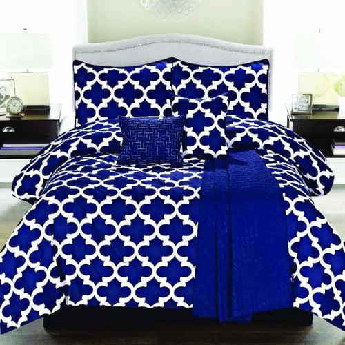 Luxury Home Cameron 5 Piece Comforter Set