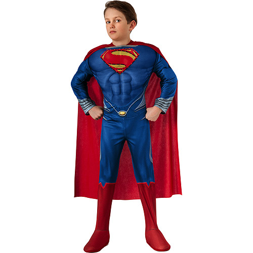 Deluxe Light-up Superman Child Halloween Costume