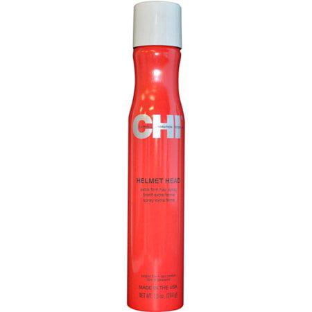 Chi Helmet Head Extra Firm Hairspray, 10 Oz Extra Firm Finishing Spray