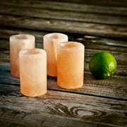Accentuations by Manhattan Comfort Himalayan Salt Shot Glass Set by Manhattan Comfort