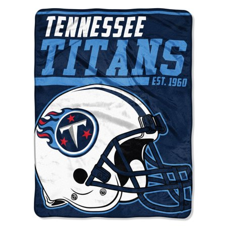 "NFL Tennessee Titans ""40-Yard Dash"" 46""x 60"" Micro Raschel Throw (Tennessee Titans Nfl 2 Piece)"