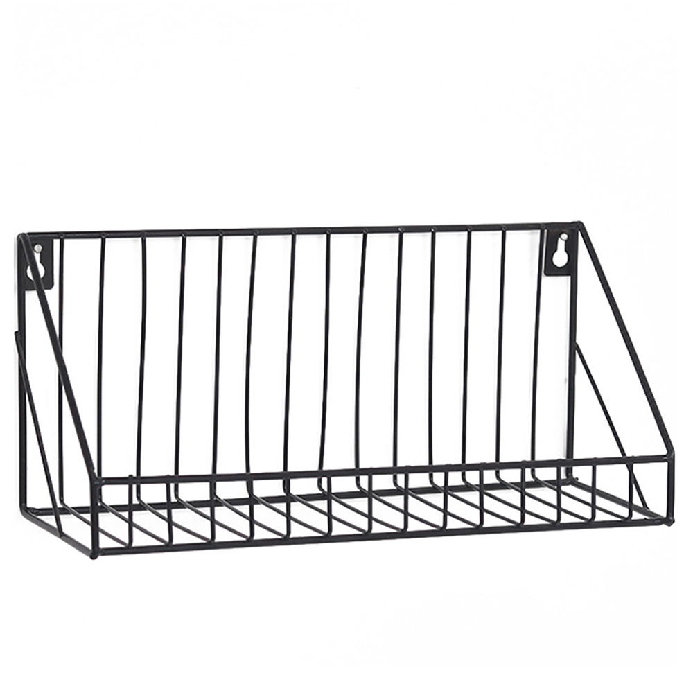 Wall Mounted Metal Wire Shelf Unit Floating Shelf Bathroom Kitchen Storage Rack Walmart Com Walmart Com
