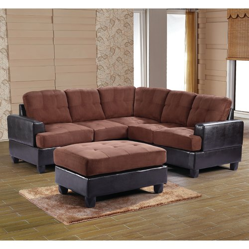 Alcott Hill Old Orchard Farm Reversible Chaise Sectional