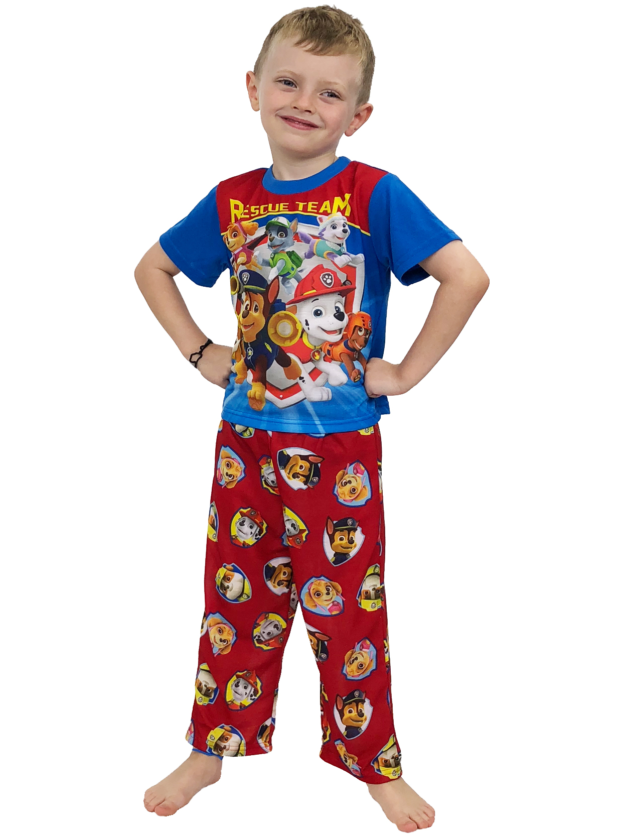 Nickelodeon Boys Vrooooming Velocity 3-Piece Pajama Set
