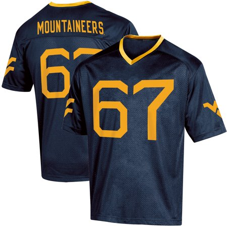 Toddler Russell Athletic Navy West Virginia Mountaineers Replica Football Jersey West Ham Home Jersey