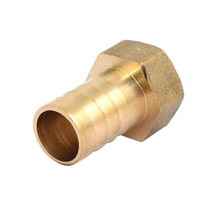1/2BSP Female Thread 16mm Hose Barb Tube Fitting Coupler Connector Adapter - image 2 of 3