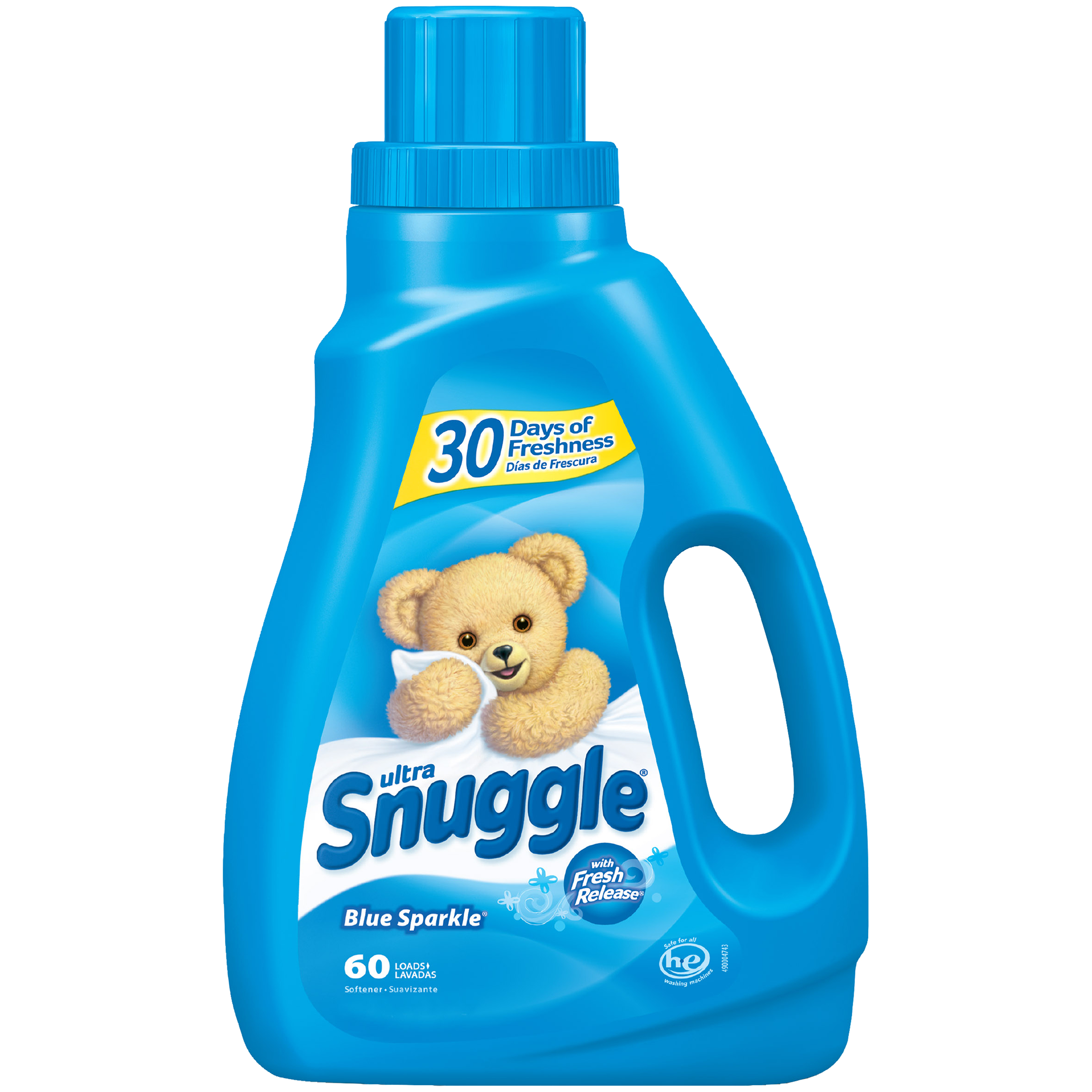 Snuggle Liquid Fabric Softener, Blue Sparkle, 50 Oz