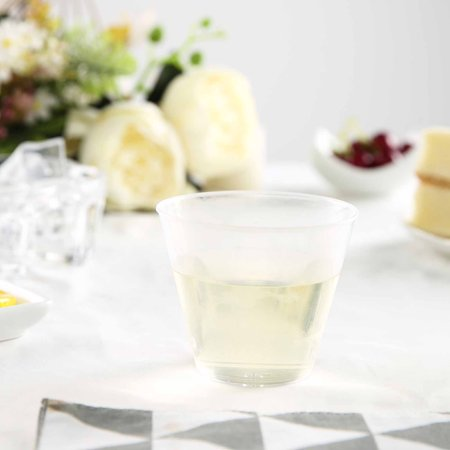 BalsaCircle Clear 25 pcs 9 oz Disposable Plastic Tumbler Cups - Wedding Reception Party Buffet Catering Tableware](Custom Wedding Cups)