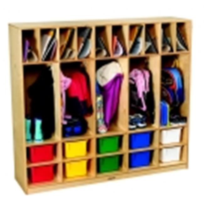 Childcraft Double-Tub Coat Locker