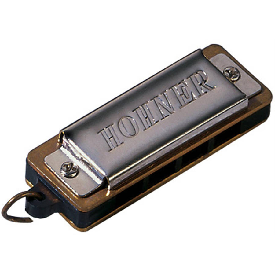 Hohner Mini Diatonic Harmonica, 4-Hole, Key of C