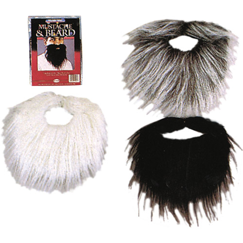 Mustache and Beard Adult Halloween Accessory