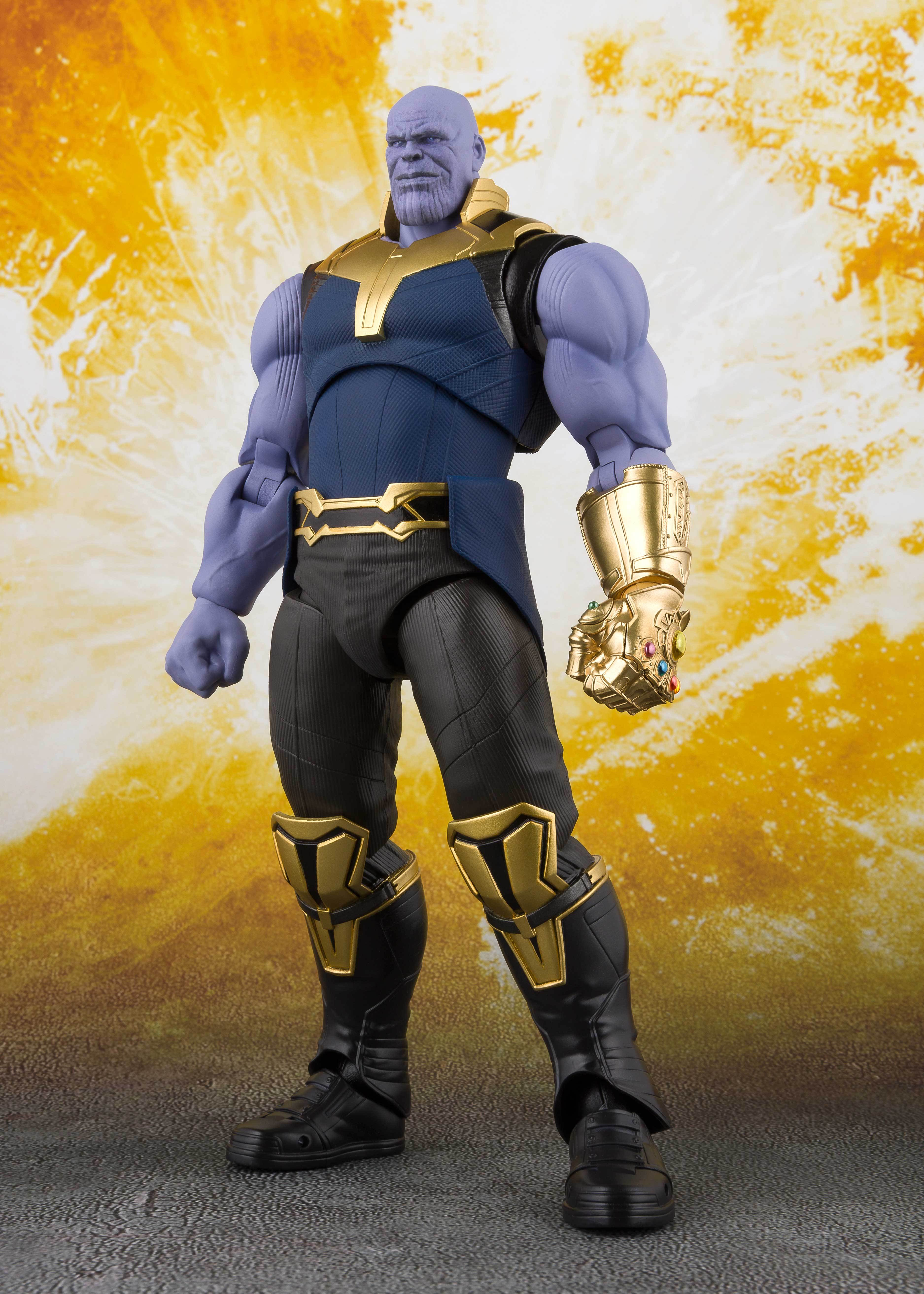 S.H. Figuarts Avengers Infinity War Thanos Action Figure by