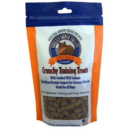 Grizzly Super Treats Salmon Training Treats for Dogs, 5 oz. - Super Simple Halloween Treats