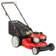 Best Gas Push Mowers - Troy-Bilt TB110 21-Inch Push Mower with 2-in-1 Triaction Review