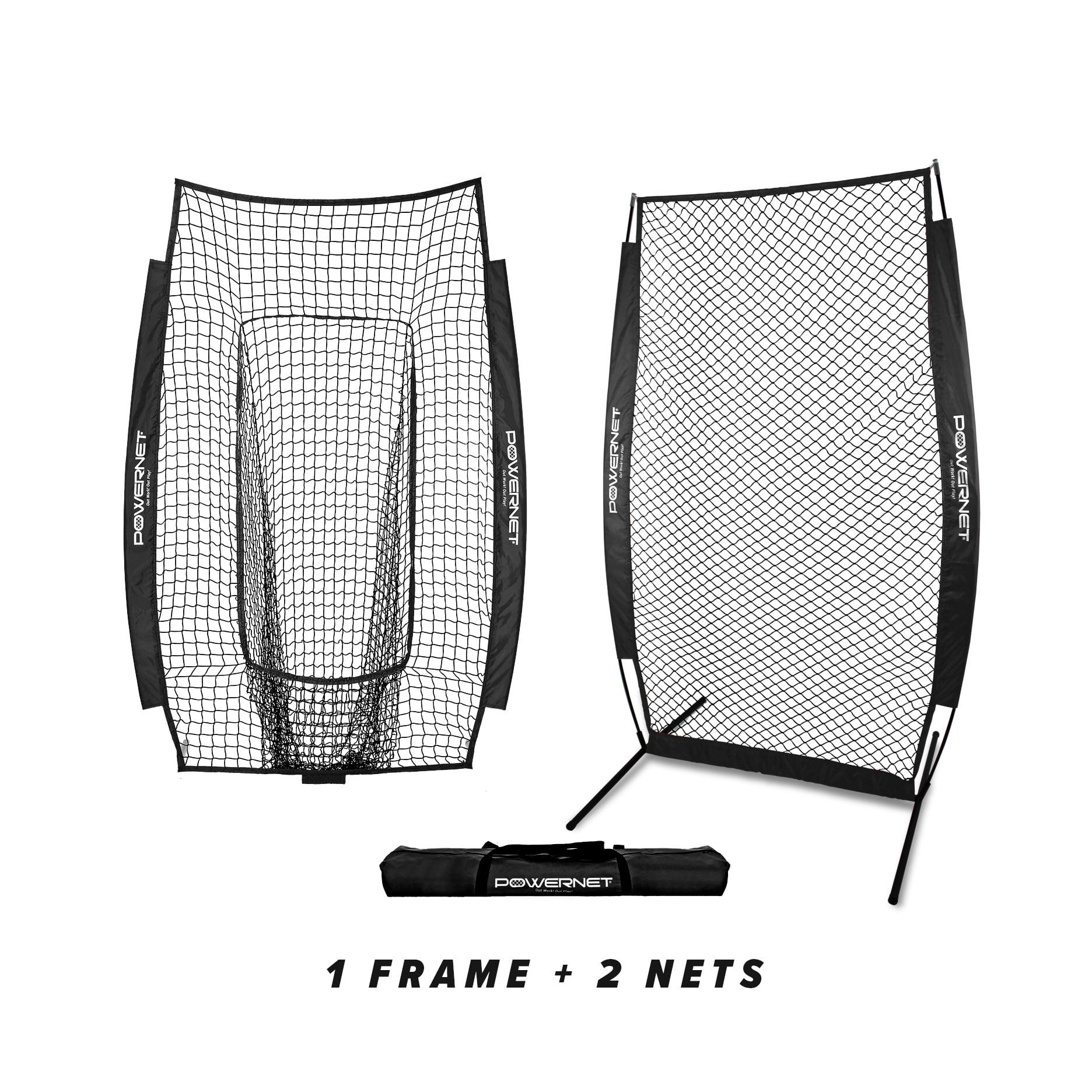 powernet i-screen w/ frame + infielder net bundle