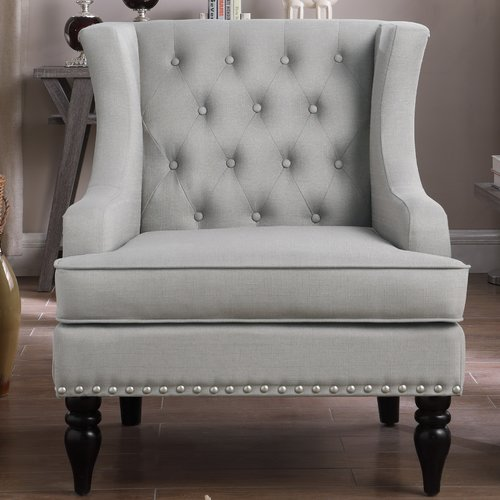 iNSTANT HOME Jewel Wingback Chair