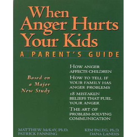 When Anger Hurts Your Kids   A Parents Guide