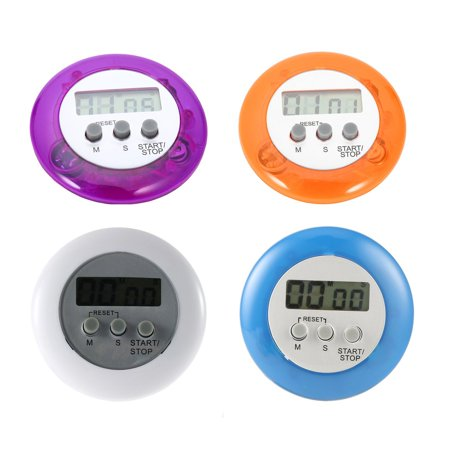 Cute Mini Digital Counter Home Kitchen Round LCD Display