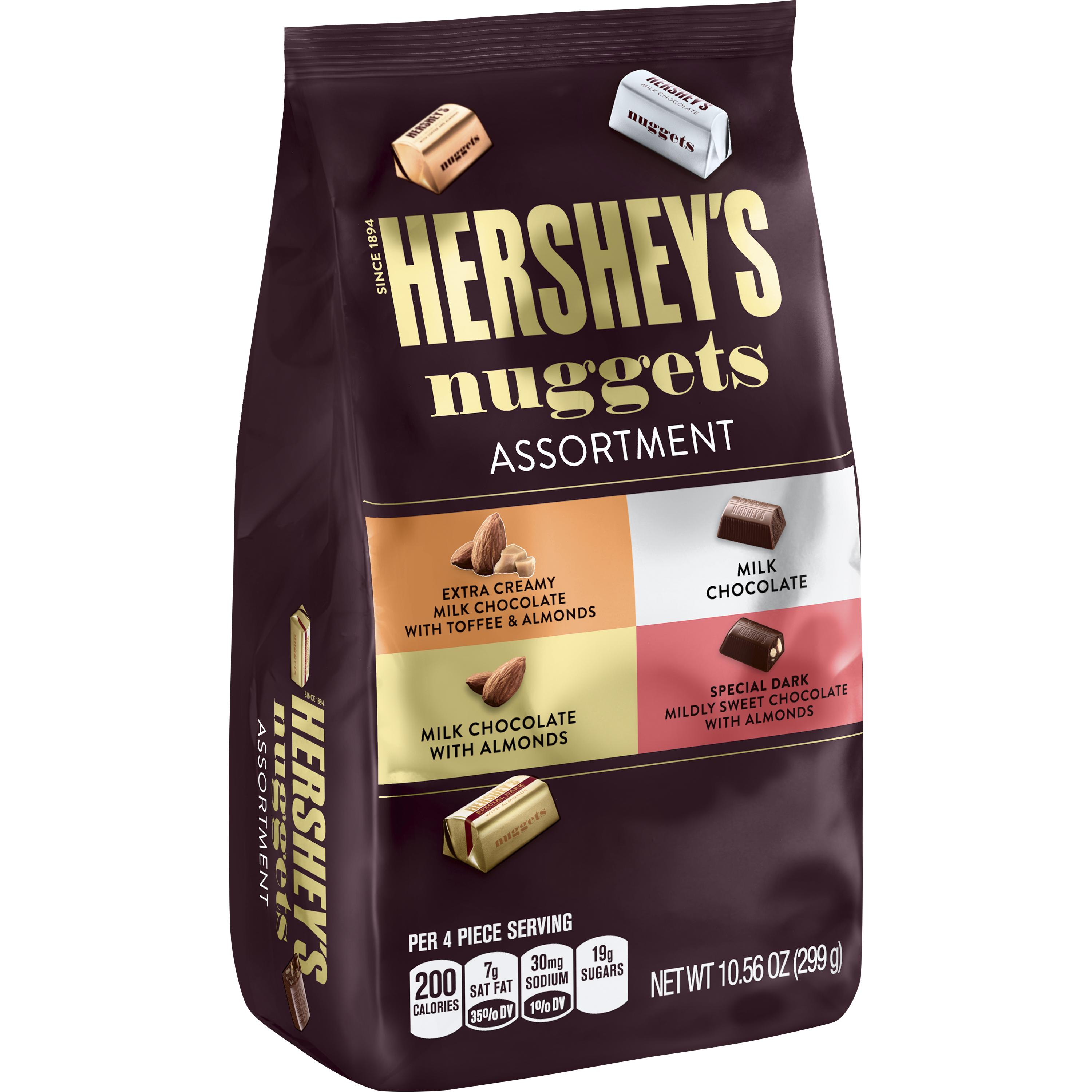 Hershey's Nuggets, Chocolate Candy Assortment, 10.56 Oz