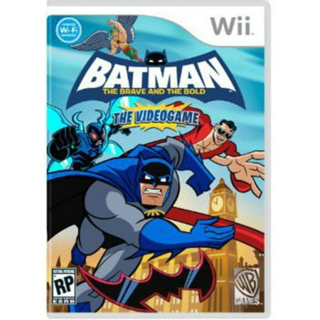 Batman: The Brave and the Bold - Nintendo Wii Warner