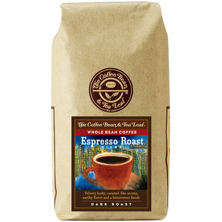 The Coffee Bean & Tea Leaf Espresso Roast Blend Dark Roast Whole Bean Coffee 12 oz. Bag