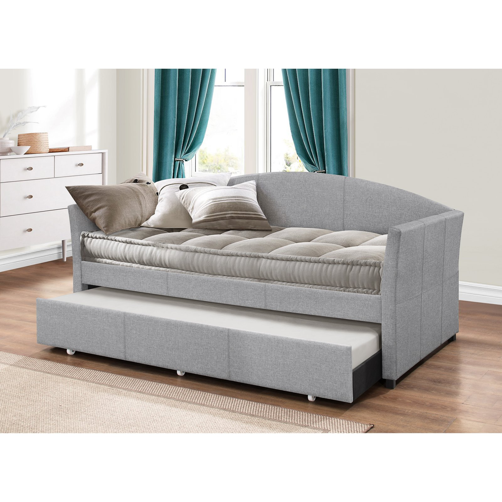 Hillsdale Furniture Westchester Daybed, Smoke Grey