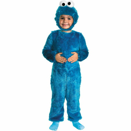 Sesame St. Cookie Monster Child Halloween Costume - Cookie Monster Tween Costume