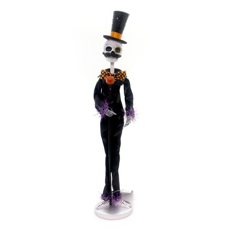Halloween DANCE w/ DANDY SKELETON Polyresin Party Bones 4052632 (Halloween Dance Tickets)